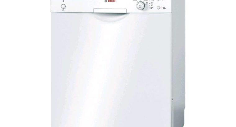 Bosch Large Size Family Dishwasher – White, Brand new