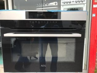 AEG compact oven integrated microwave, NEW