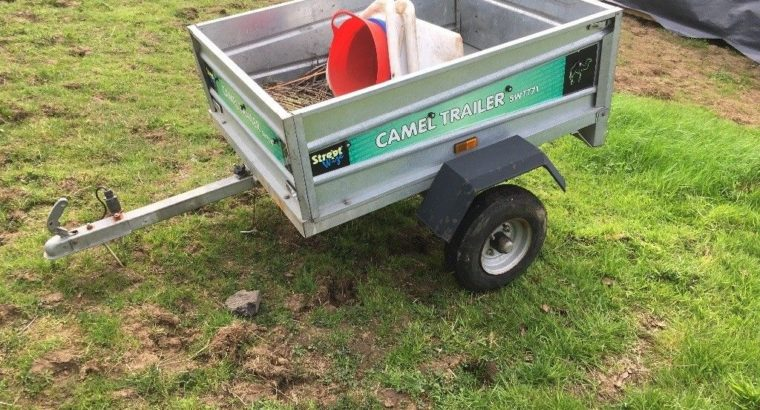 Trailer – tailgate and tipping function