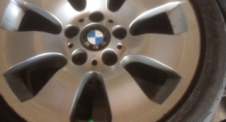 Alloys and tyres for BMW 3-Series E90