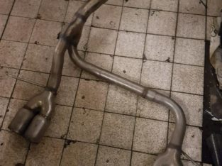 Focus mk2 back box exhaust/Possible st