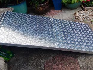 Aluminium Custom made ramp