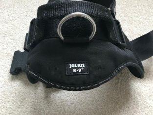 Black Julius K9 Large Dod Harness