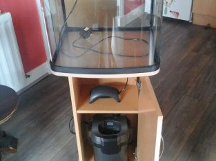 Full set-up Tank and Stand, Large filter and silent pump, Other accessories available