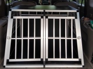 Aluminium Large Dog Cage / Crate – Suit large car or van etc