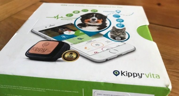 UNUSED Kippy vita gps pet activity monitor