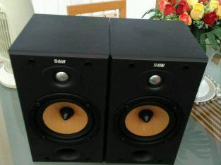 Amazing sound Bowers Wilkins 601s2 speakers vgc