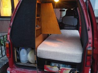 Reliable&Ready to go Daihatsu Ladybird Micro Campervan 50 MPG 63t miles Long MOT 2 Keyes
