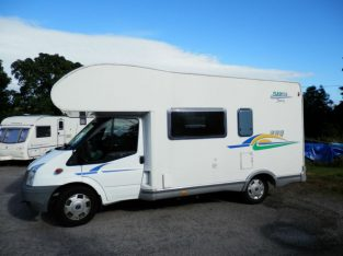 For sale Chausson Flash S3, 6 berth, large rear garage motor home