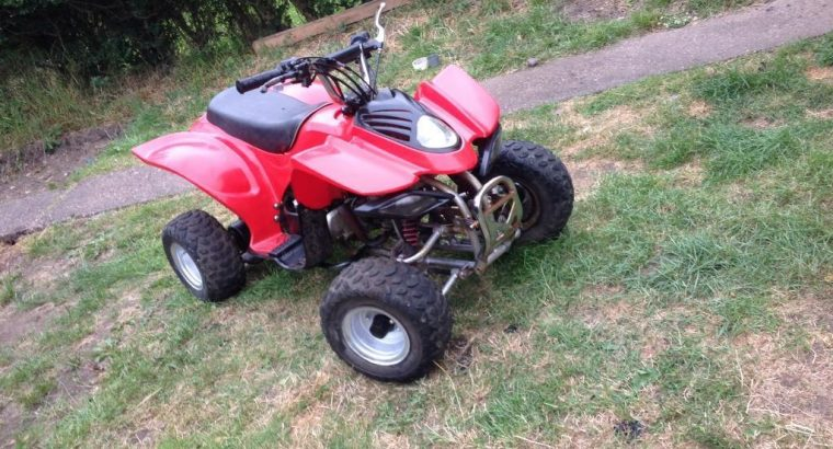 2016 Kids quad bike auto Rev and go speed restrictable mint