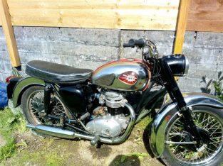 c15t trials engine classic – BSA c15 1958 250cc