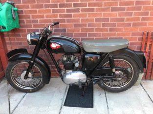 250cc 1958 BSA C15