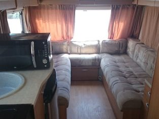 2012 Sprite Musketeer 4 birth caravan with bunk beds