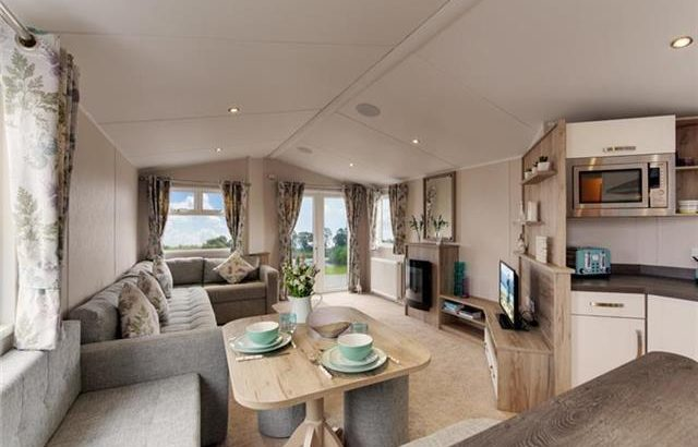 STUNNING 2018 STATIC CARAVAN FOR SALE NORTHUMBERLAND SITE FEES INCL
