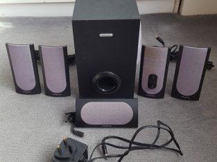 PC speakers – Creative 5.1 SBS 580