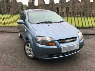 Chevrolet Kalos 1.4 SX, 2007, 2MTHS MOT, Cheap Car