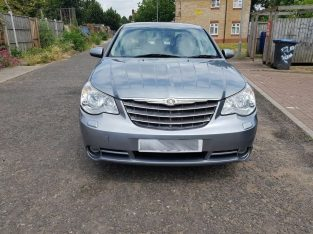 Automatic Chrysler Sebring 2.4 Limited 4dr 2008