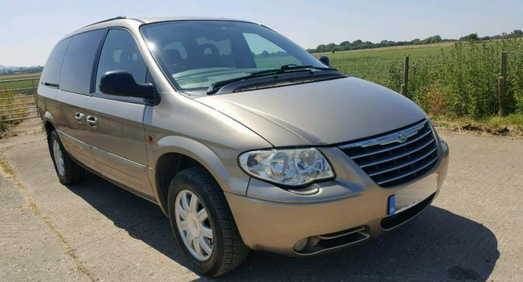 7 SEATER CHRYSLER GRAND VOYAGER 2.8 LTD AUTO TOWBAR