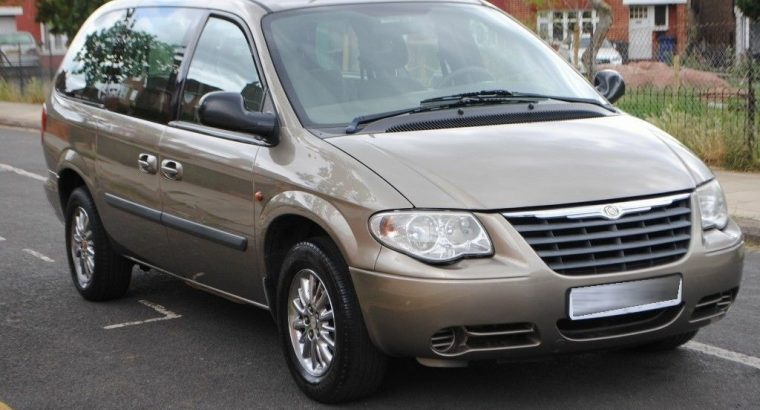 2005 AUTOMATIC LHD LEFT HAND CHRYSLER GRAND VOYAGER STOW AND GO 10 7 SEATER CLEAN MPV