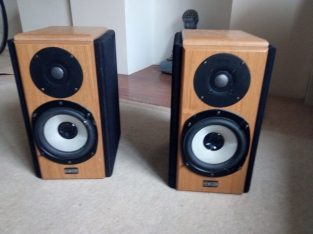 HIGHLY REGARDED Revolver R16 bookshelf speakers, working perfectly