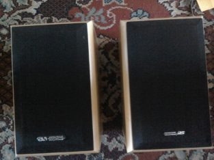 Bookshelf size Hi fi speakers – Bargain