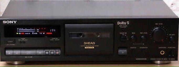 3 Head cassette deck HX PRO Dolby B C S – Sony TCK-611s