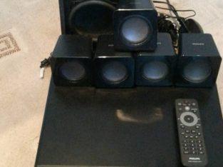 Surround sound system, Philips