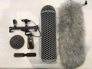 £161 Rode Blimp V2 With Rycote ShockMount Full Windshield Kit