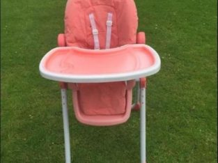 Coral High chair