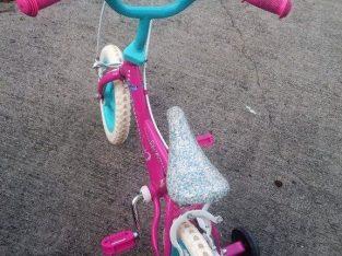 Pink Barbie Childs Bike