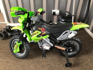 Hardly used Kids battery operated motorbike