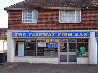 Leasehold fish and chip shop with 2 bedroom flat