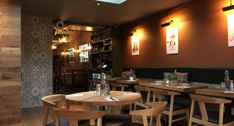 A3 restaurant for sale, full refurb, low premium, 50 seats