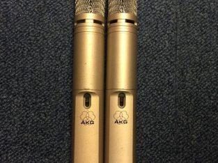 BEST OFFER Pair of AKG C1000 S Condenser Microphones