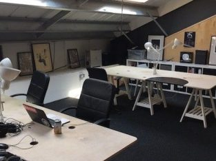Available Desk Space in Creative Industries Offices