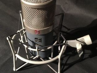 Large condenser microphone, SE Electronics g3500, USED with visible imperfections
