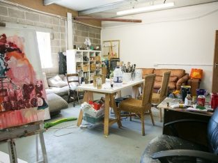 Light Industrial Studio, Large, near Bristol Temple Meads with natural light