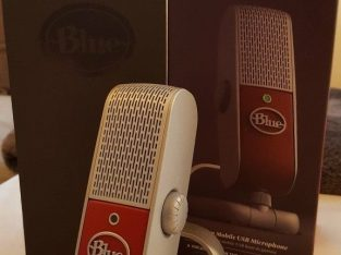 Mint condition – Blue Raspberry USB microphone – Like new