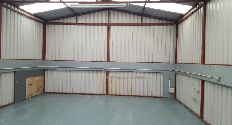 Starter industrial units to rent