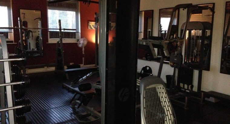 For rent Private personal training gym