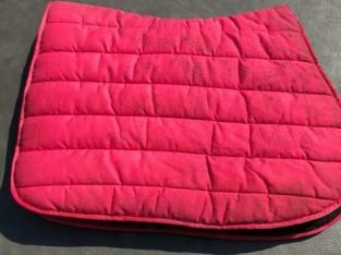 Red Thick Saddle Pad