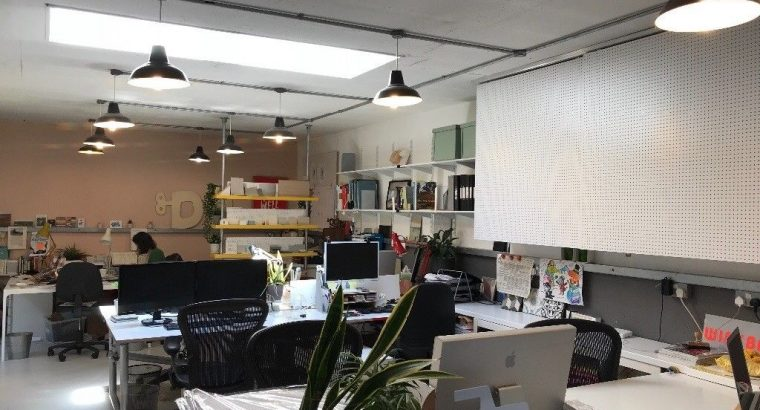 Desk spaces available in lovely creative Shoreditch office
