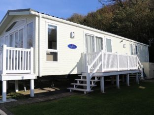 Luxury Static Caravan (2016) in Pristine Condition with Spectacular Sea Views