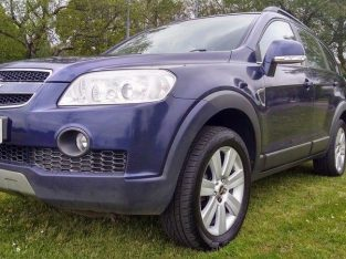 2008 Chevrolet Captiva LTX 2.0 CDTI 7 SEAT Good / Bad Credit Car Finance (blue)
