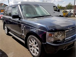BLUE LAND ROVER RANGE ROVER VOGUE 2002, 156,000 MILES 3.0 DIESEL AUTOMATIC MPV