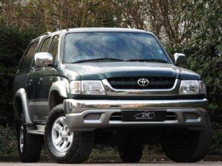 04 TOYOTA HI-LUX 2.5 280 VX 2004 DOUBLE CAB 4WD 4D DIESEL