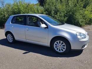 Volkswagen Golf 2008 (58) 1.9 TDi Automatic with Full Leather