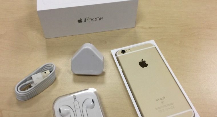 For sale Gold Apple iPhone 6S 16GB Factory Unlocked Mobile Phone + Warranty