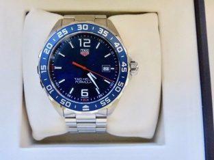 Men's Stainless Steel Bracelet Watch TAG Heuer F1 (Tag warranty June 2019)