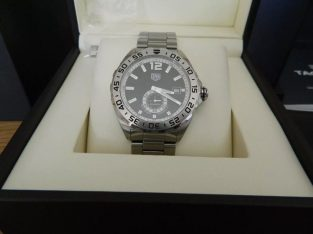 New TAG Heuer Formula 1 Men's Stainless Steel Bracelet Watch (Tag Warranty May 2020)